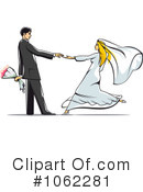Royalty-Free (RF) Wedding Clipart Illustration #1062281