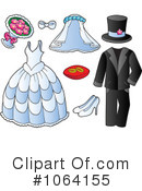 Wedding Clipart #1064155 by visekart