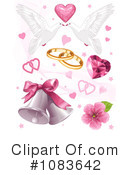 Royalty-Free (RF) Wedding Clipart Illustration #1083642