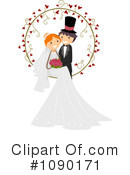 Royalty-Free (RF) wedding Clipart Illustration #1090171