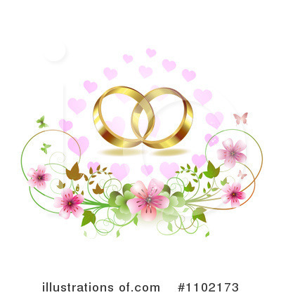 Royalty-Free (RF) Wedding Clipart Illustration by merlinul - Stock ...