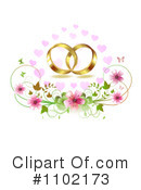Royalty-Free (RF) Wedding Clipart Illustration #1102173