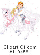 Royalty-Free (RF) Wedding Clipart Illustration #1104581