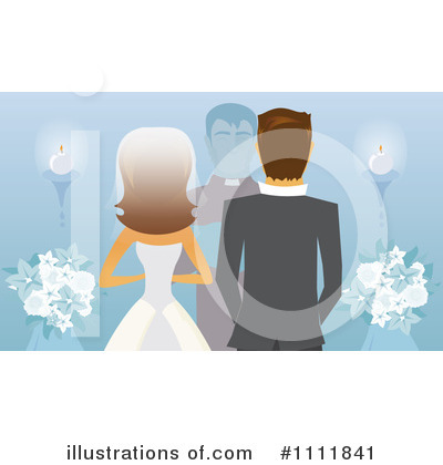 Bride Clipart #1111841 by Amanda Kate
