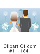 Royalty-Free (RF) wedding Clipart Illustration #1111841