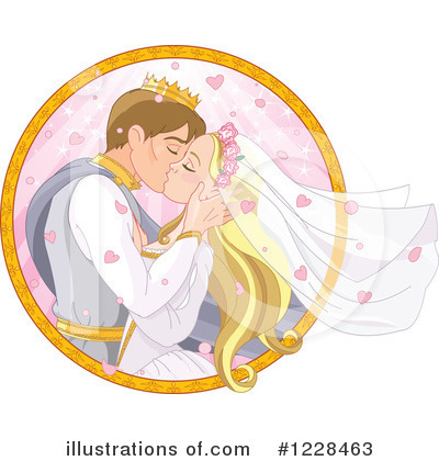Wedding Couple Clipart #1228463 by Pushkin