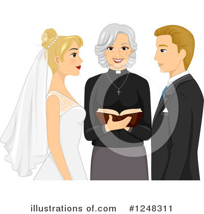 Royalty-Free (RF) Wedding Clipart Illustration by BNP Design Studio - Stock Sample #1248311