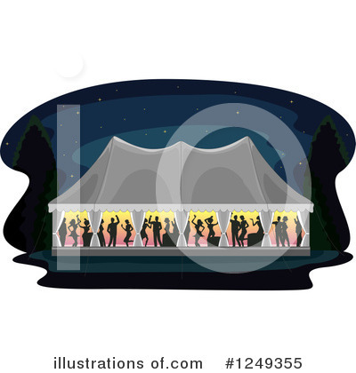Royalty-Free (RF) Wedding Clipart Illustration by BNP Design Studio - Stock Sample #1249355