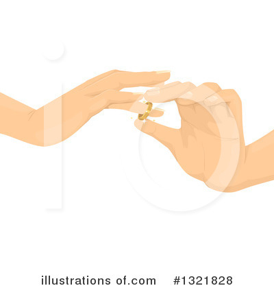 Wedding Ring Clipart #1321828 by BNP Design Studio