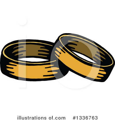 Royalty-Free (RF) Wedding Clipart Illustration by Prawny - Stock Sample #1336763