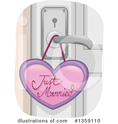 Just Married Clipart #1359110 by BNP Design Studio