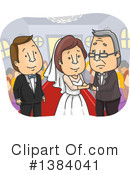 Royalty-Free (RF) Wedding Clipart Illustration #1384041
