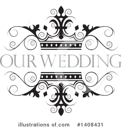 Wedding Frame Clipart #1408431 by Lal Perera