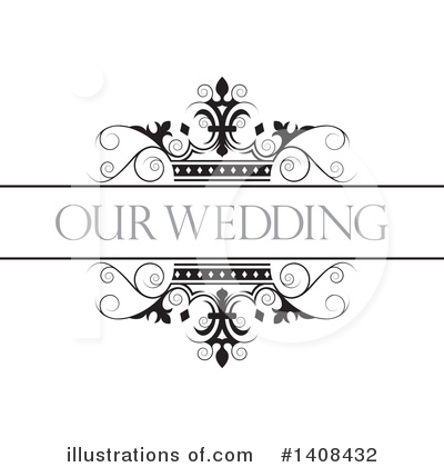 Wedding Frame Clipart #1408432 by Lal Perera