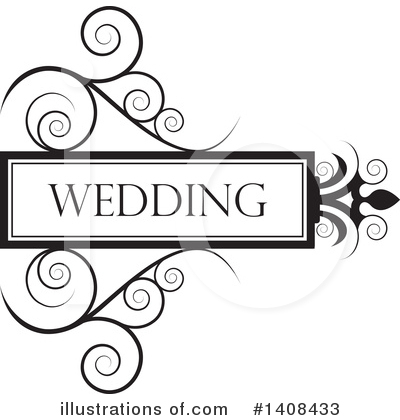 Wedding Frame Clipart #1408433 by Lal Perera