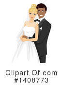 Royalty-Free (RF) Wedding Clipart Illustration #1408773