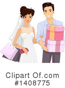 Wedding Clipart #1408775 by BNP Design Studio