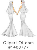 Wedding Clipart #1408777 by BNP Design Studio