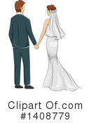 Royalty-Free (RF) Wedding Clipart Illustration #1408779