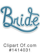 Wedding Clipart #1414031 by BNP Design Studio