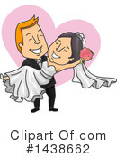 Royalty-Free (RF) Wedding Clipart Illustration #1438662