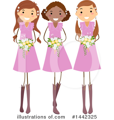Wedding Party Clipart #1442325 by BNP Design Studio