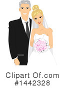 Royalty-Free (RF) Wedding Clipart Illustration #1442328