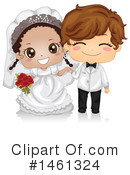 Royalty-Free (RF) Wedding Clipart Illustration #1461324