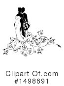 Royalty-Free (RF) Wedding Clipart Illustration #1498691