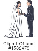Wedding Clipart #1582478 by Vector Tradition SM