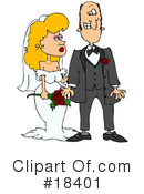 Royalty-Free (RF) Wedding Clipart Illustration #18401