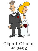 Royalty-Free (RF) wedding Clipart Illustration #18402