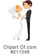 Royalty-Free (RF) wedding Clipart Illustration #211045