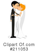 Royalty-Free (RF) wedding Clipart Illustration #211053