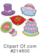 Royalty-Free (RF) Wedding Clipart Illustration #214600