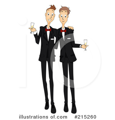 Royalty-Free (RF) Wedding Clipart Illustration by BNP Design Studio - Stock Sample #215260