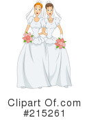Royalty-Free (RF) Wedding Clipart Illustration #215261