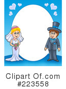 Royalty-Free (RF) Wedding Clipart Illustration #223558