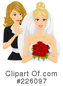 Royalty-Free (RF) wedding Clipart Illustration #226097