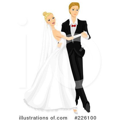 Royalty-Free (RF) Wedding Clipart Illustration by BNP Design Studio - Stock Sample #226100