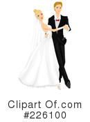 Royalty-Free (RF) Wedding Clipart Illustration #226100