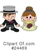 Royalty-Free (RF) wedding Clipart Illustration #24469