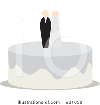 Royalty-Free (RF) Wedding Clipart Illustration by PlatyPlus Art - Stock Sample #31636