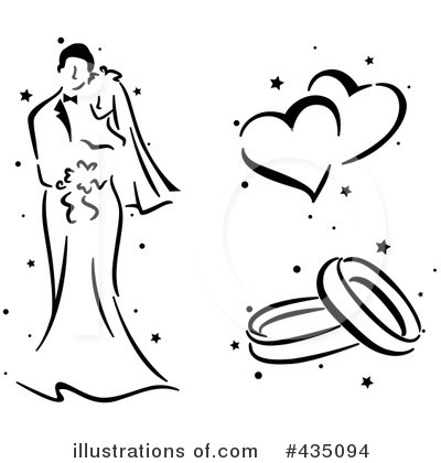 Wedding Ring Clipart #435094 by BNP Design Studio