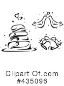 Royalty-Free (RF) Wedding Clipart Illustration #435096