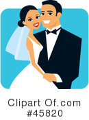 Royalty-Free (RF) Wedding Clipart Illustration #45820
