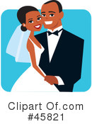 Royalty-Free (RF) wedding Clipart Illustration #45821