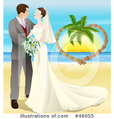 Couple Clipart #46055 by AtStockIllustration