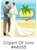 Royalty-Free (RF) Wedding Clipart Illustration #46055