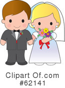 Royalty-Free (RF) wedding Clipart Illustration #62141